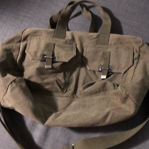 Army green Utility bag